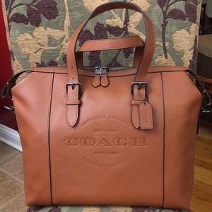 Coach Hudson Brief/Lap Top Bag.